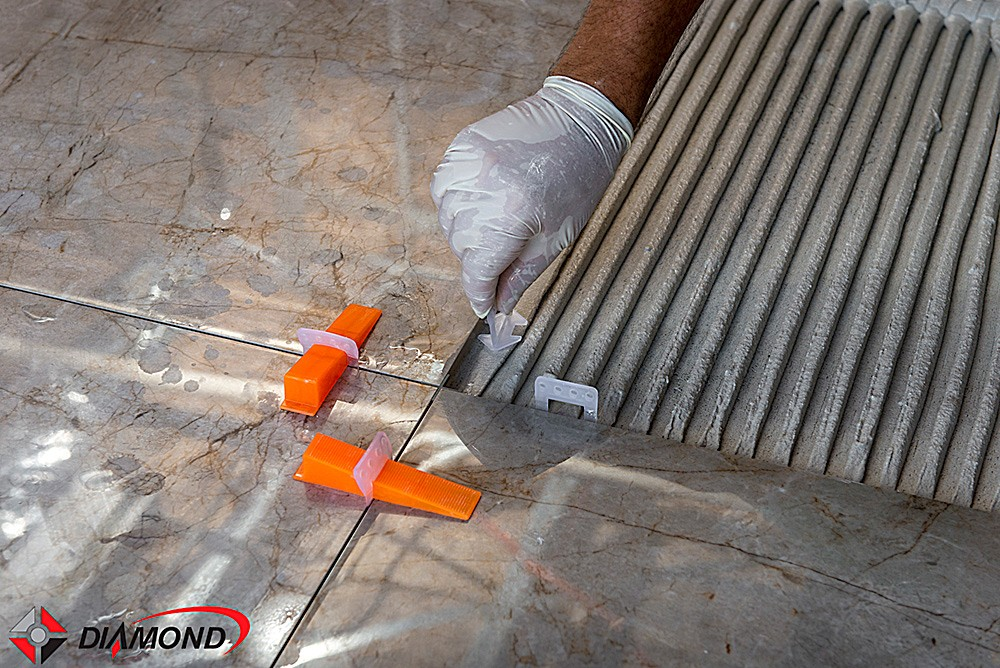 Clips Sharp para Nivelamento de Piso - 3 Tamanhos