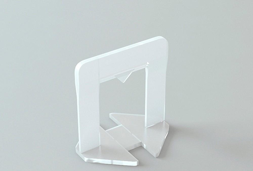 Kit Nivelador de Piso Sharp: 100 Clips + 50 cunha + 1 Alicate