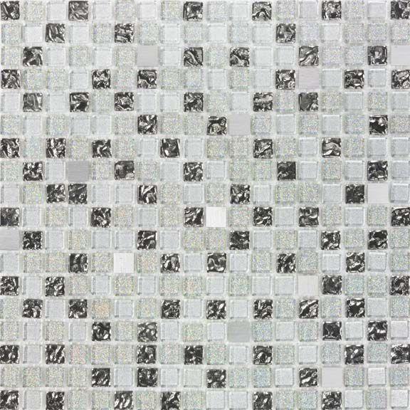 Pastilha de Vidro com Pedras Naturais e Metais TS 454