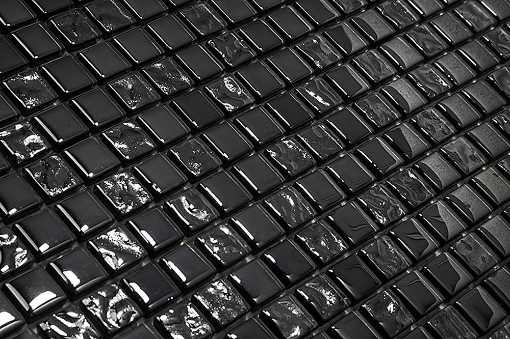Pastilha de Vidro com Pedras Naturais e Metais TS 506