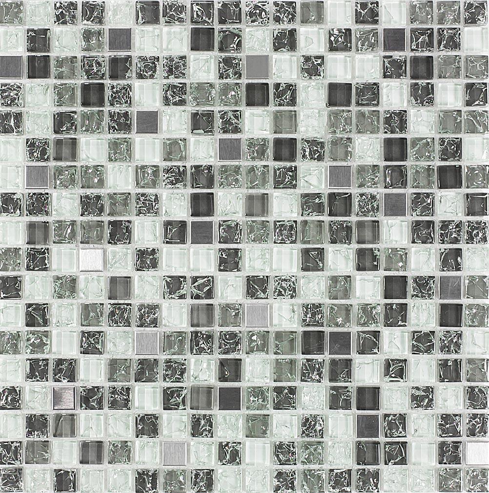 Pastilha de Vidro com Pedras Naturais e Metais TSCR 288