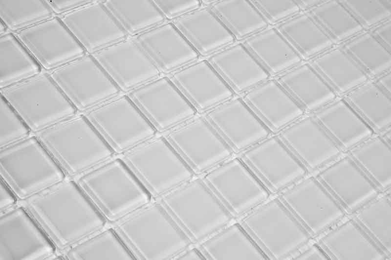 Pastilha de Vidro Cristal Branca SM 51