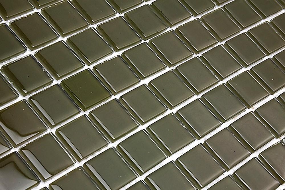 Pastilha de Vidro Cristal Verde Musgo SM 80