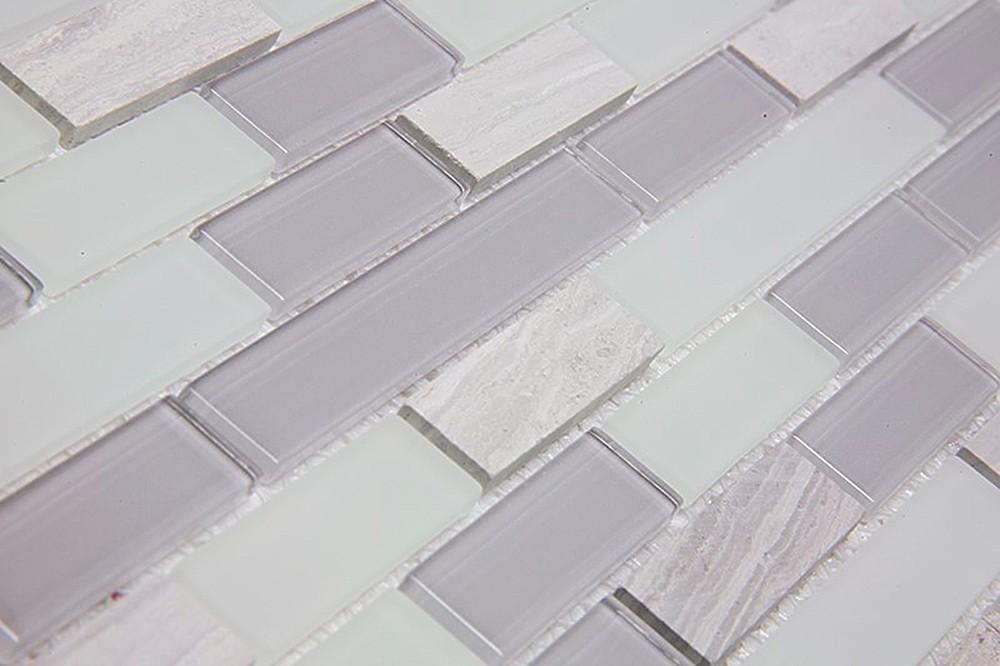 Pastilha de Vidro e Pedras Naturais Filetto TSSHY 02