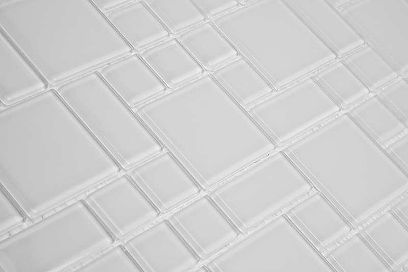 Pastilha de Vidro Modulare Branca MTS 200