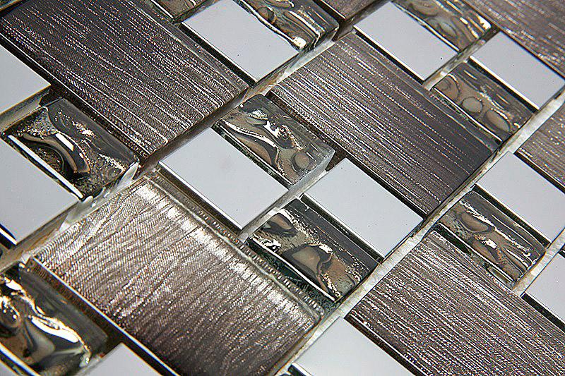 Pastilha de Vidro com Metal Modulare Especial RB 144792