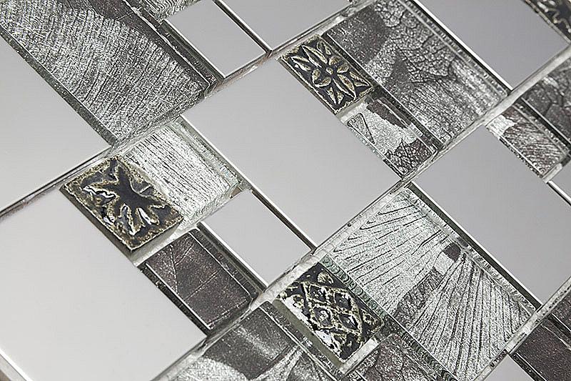 Pastilha de Vidro com Metal Modulare Especial RB 146793