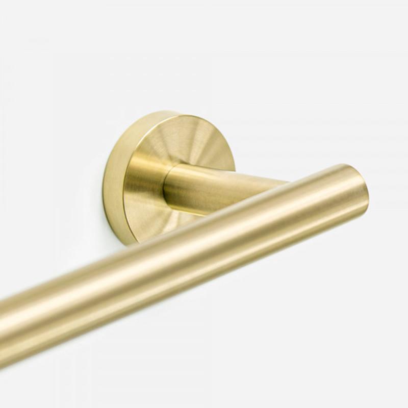 Porta Toalha de Banho Inox Tarsila Dourado