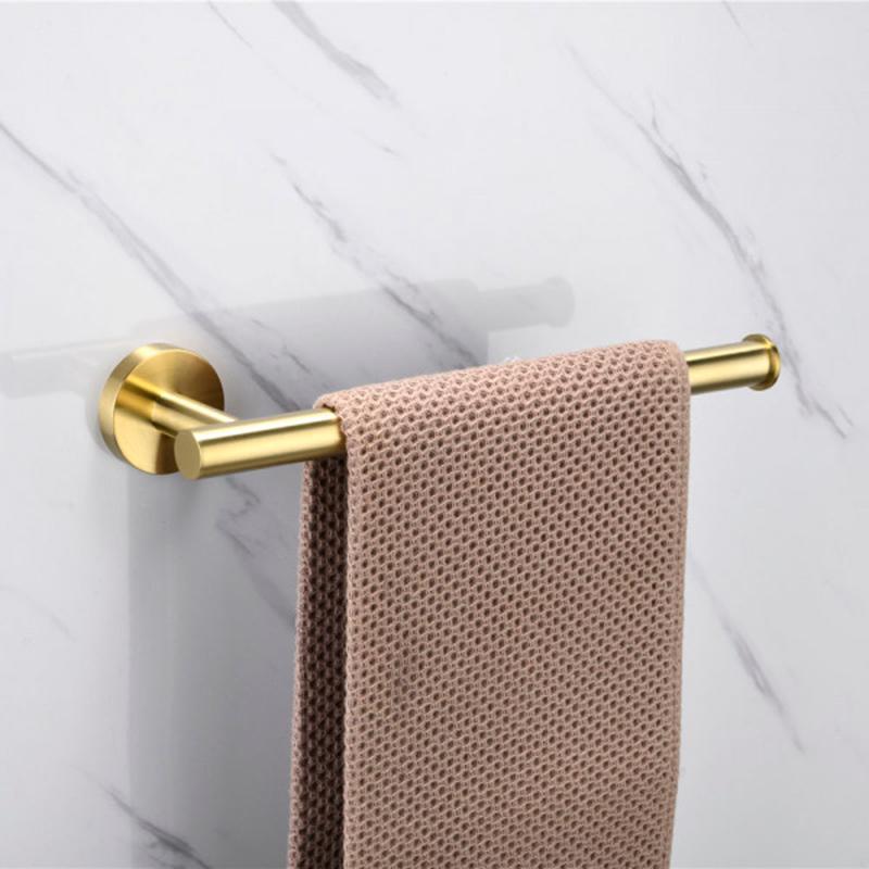 Porta Toalha de Rosto Inox Tarsila Dourado