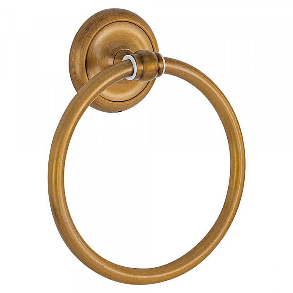 Porta Toalha de Rosto Retrô Goya Dourado