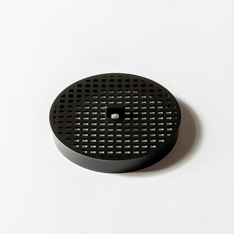 Ralo Oculto Invisível 10x10cm com Tela Bege