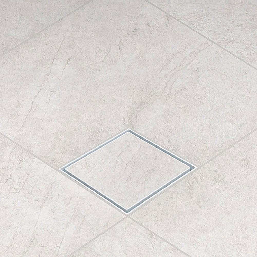 Ralo Oculto Invisível Branco