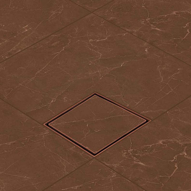 Ralo Oculto Invisível Terracota