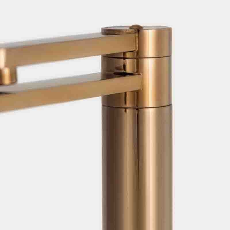 Torneira Monocomando Giratória de Filtro Ibiza Rosé Gold