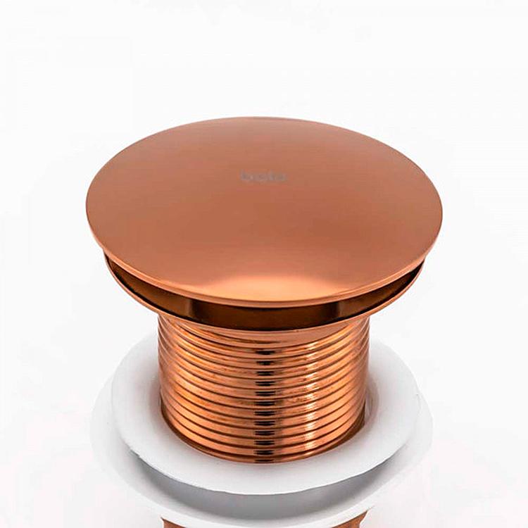 Válvula Click para Cubas Inox Rosé Gold