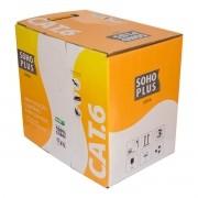Cabo de Rede Cat6 305 Metros Furukawa Soho Plus 24awgx4p Branco