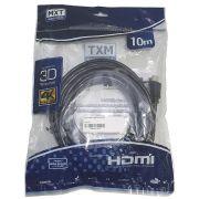 Cabo HDMI 10 metros 4K 3D MXT