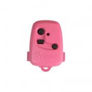 Controle Portão TX 3C Peccinin 433,92 MHZ Rosa
