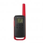 Radio Motorola Talkabout T210 Pt/Vm Com Carregador 1 Par