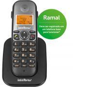Telefone Sem Fio Intelbras TS 5121 Ramal Preto