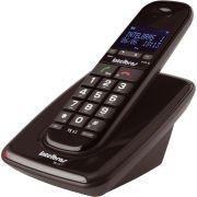 Telefone Sem Fio Intelbras TS 63 Preto Viva Voz