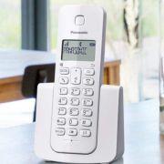 Telefone Sem Fio Panasonic KX-TGB110 Branco