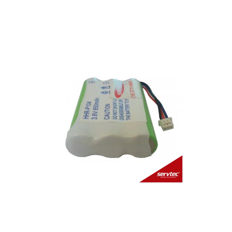 Bateria Telefone sem fio Headset Plantronics CT12 3,6V 850 mAh