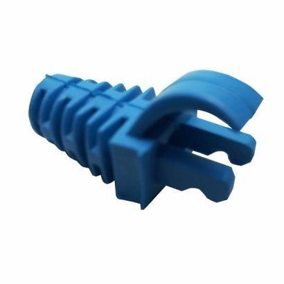 Cabo de Rede Cat5e Soho Plus Azul 50 metros + 20 Rj45 Cat5e + 20 Snap + Testador com bateria