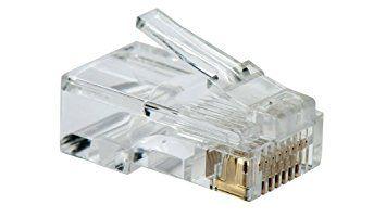 Cabo de Rede Cat5e Soho Plus Branco 20mts + 10 Rj45 Cat5e com capa Snap + Testador com bateria
