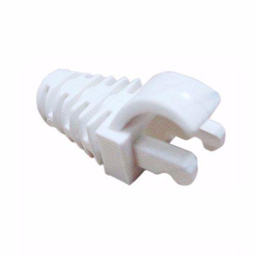 Cabo de Rede Cat5e Soho Plus Branco 50mts + 04 Rj45 Cat5e com capa + 1 Alicate + Testador com bateria