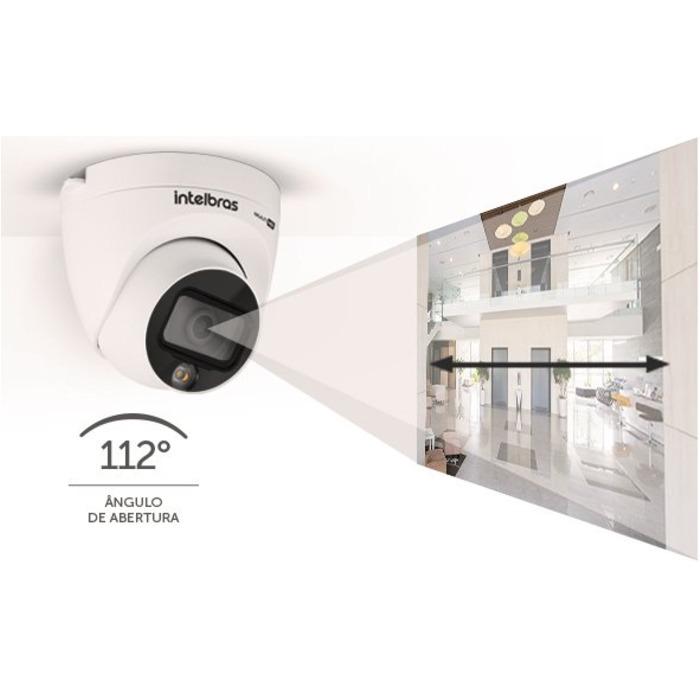Câmera Infra Intelbras VHD 1220d Full Color 2.8mm 20mts