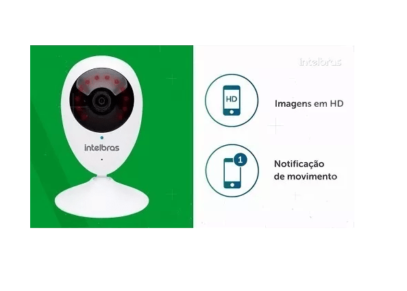 Câmera  IP WiFi Intelbras HD MIBO IC3
