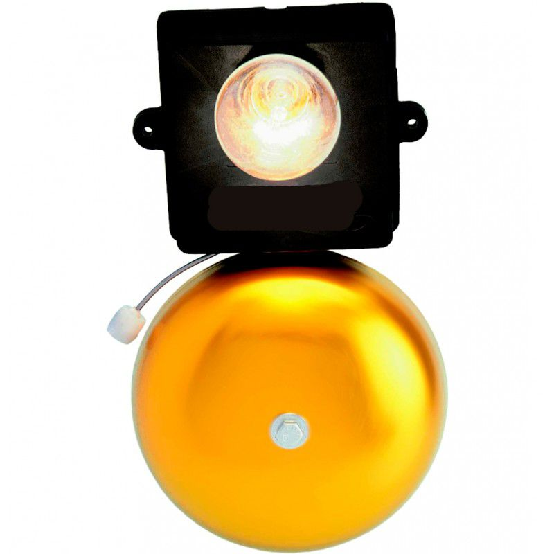 Campainha Telefone Danval CF02.2 6 Potencia Ramal PABX 220V Lampada