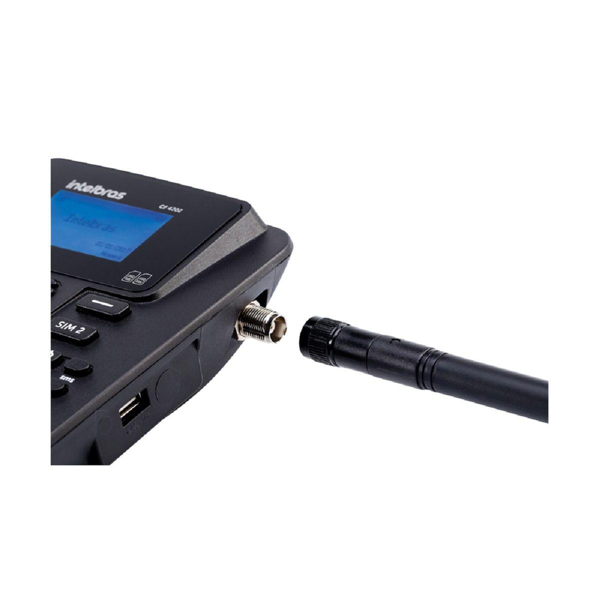 Celular De Mesa Intelbras CF4202 Dual Chip