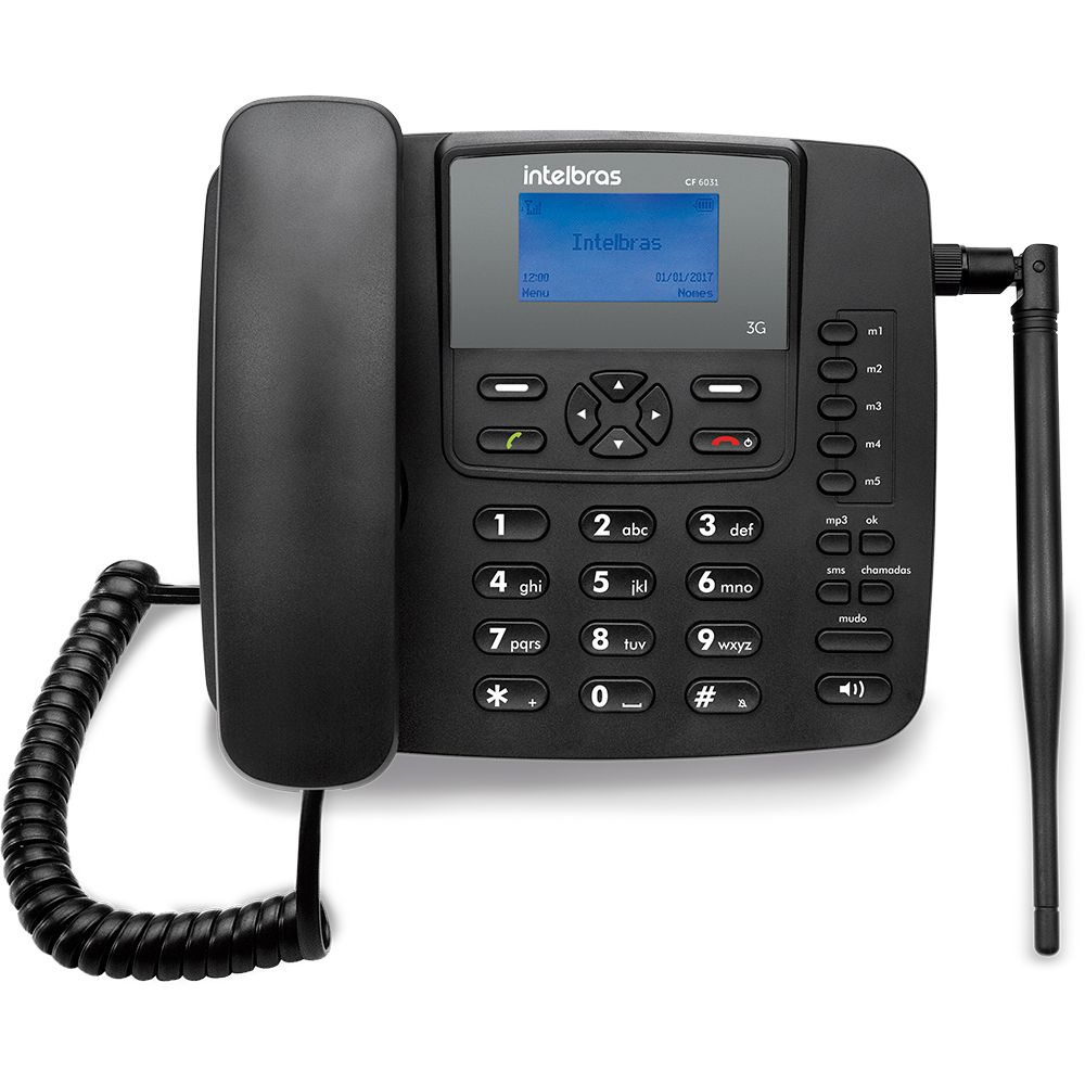 Celular de mesa Intelbras CF6031 3G