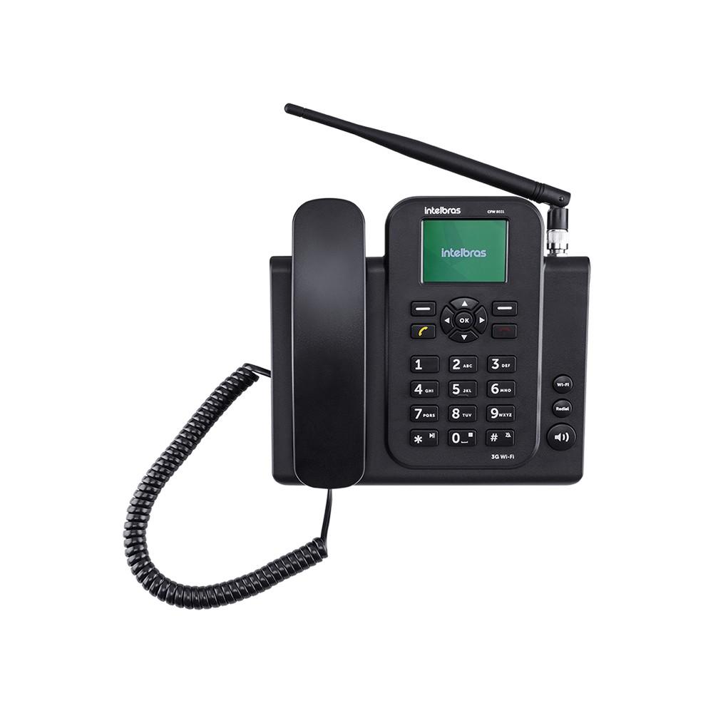 Celular De Mesa Intelbras CFW 8031 3G Wifi