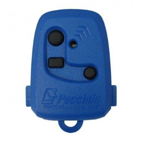 Controle Portão TX 3C Peccinin 433,92 MHZ Azul
