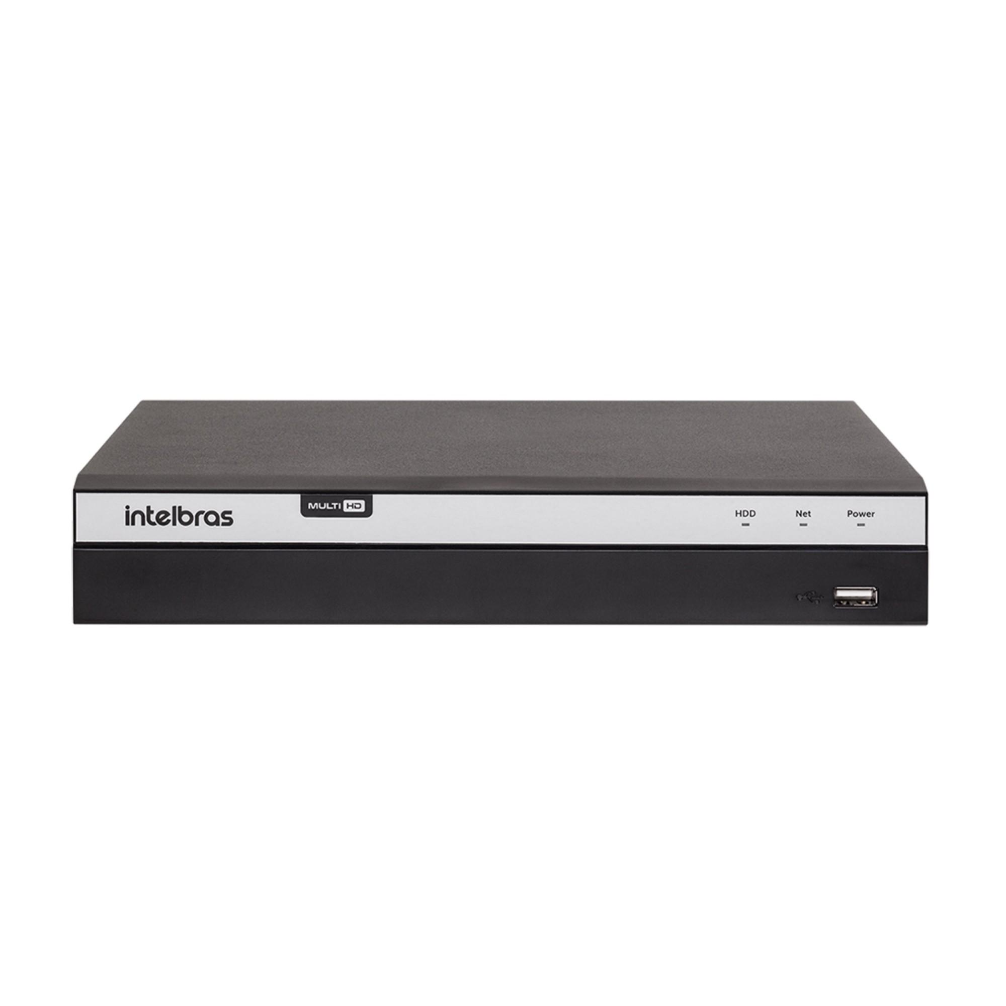DVR Intelbras 08 canais MHDX 3108 4MP Lite Mult HD 4580331