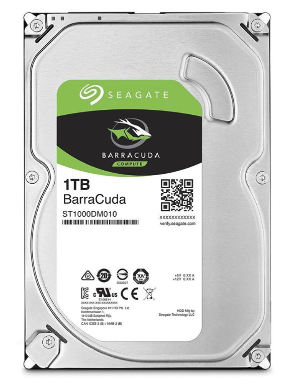 HD Seagate 1 Tera Barracuda ST1000DM010