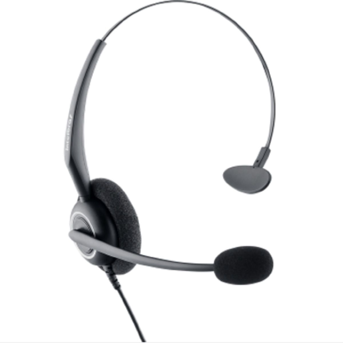 Headset Intelbras CHS 55 Parte Superior da Base Discada