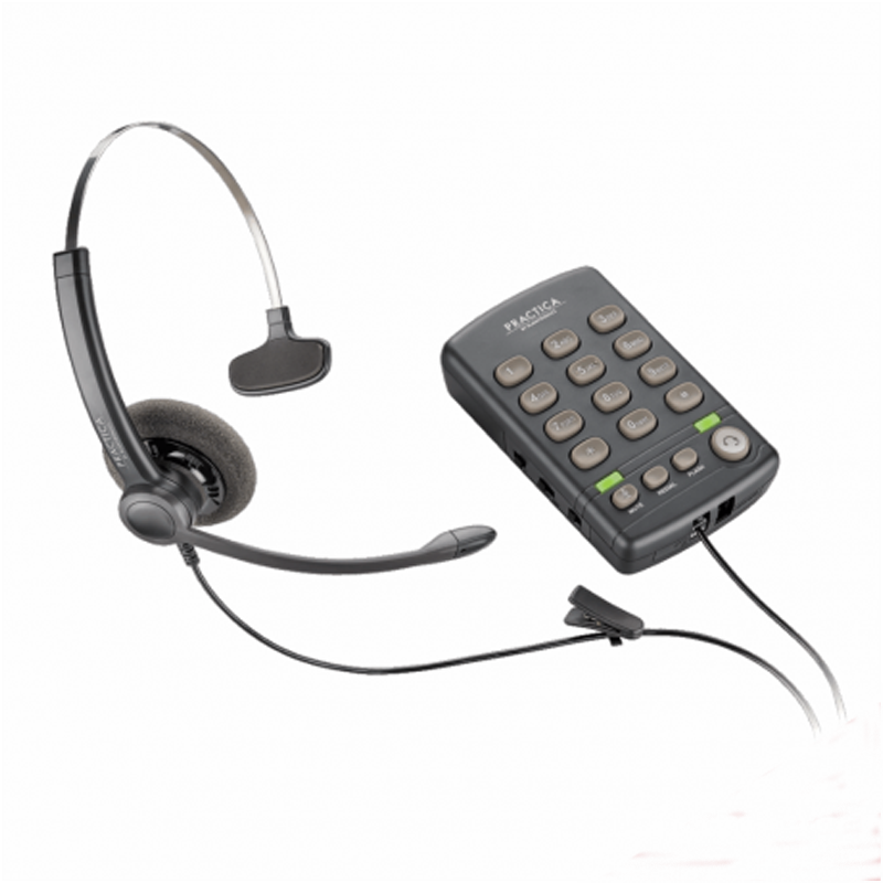 Headset Plantronics T110 com Teclado
