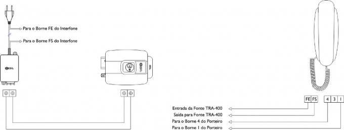 Interfone  HDL AZ01 (Só Fone Interno)