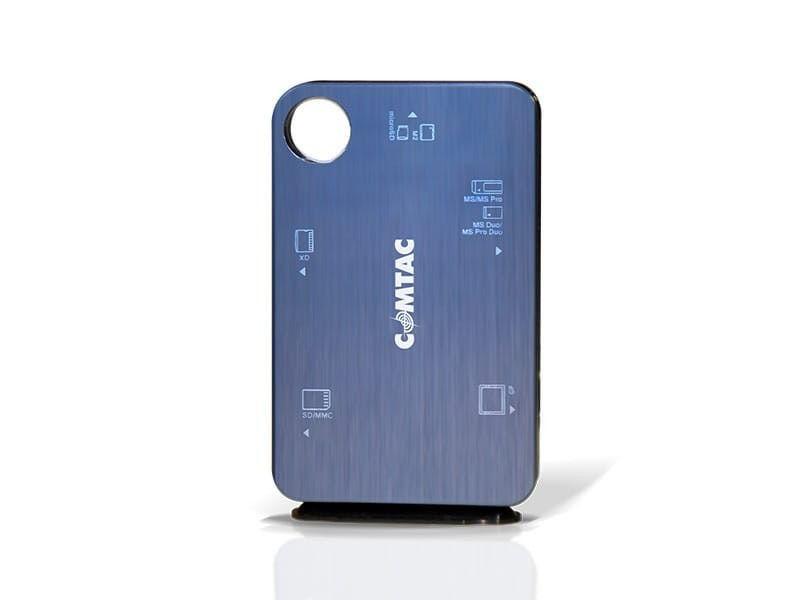 Leitor de Cartões USB SD Compact Flash Ultra Slim Comtac