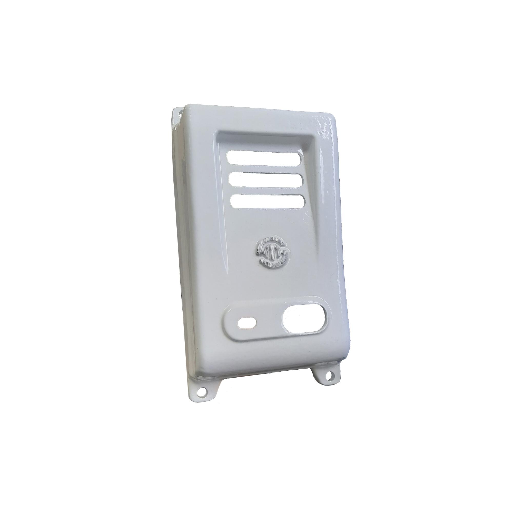 Protetor Senun Porteiro F8-S Aluminio Branco 301201
