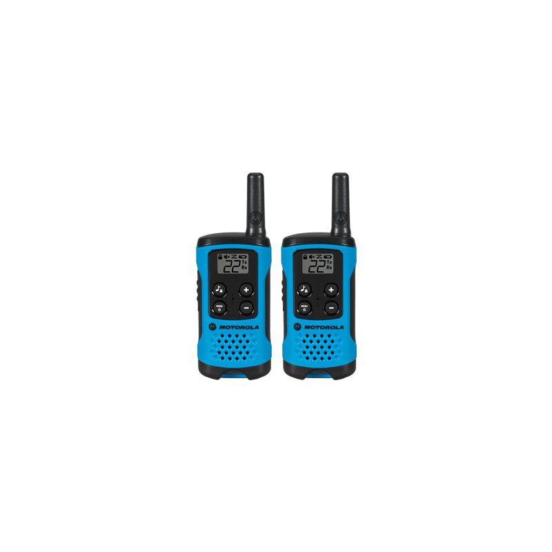 Rádio Motorola Talk About T100BR 25KM 26 Canais (1 Par)