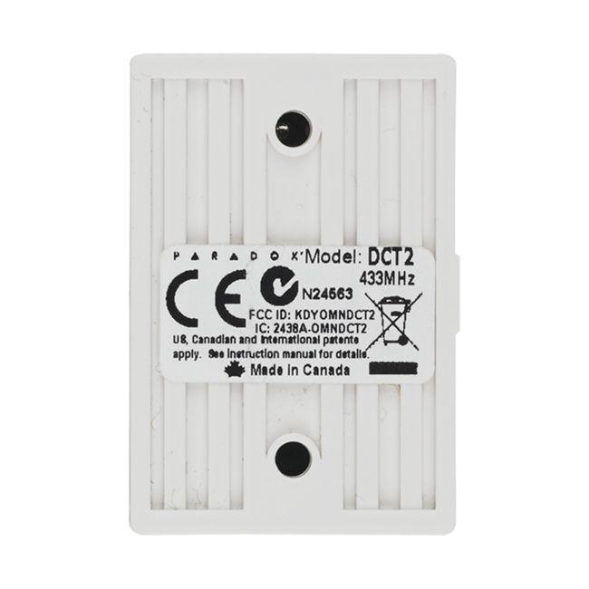 Sensor Paradox DCT2 Mini Contato Magnético 433MHZ Sem Fio