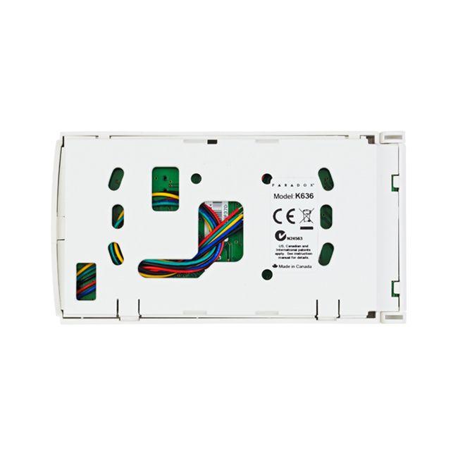 Teclado Paradox K636 E55/E65/MG5000/MG5050/Serie Spectra SP