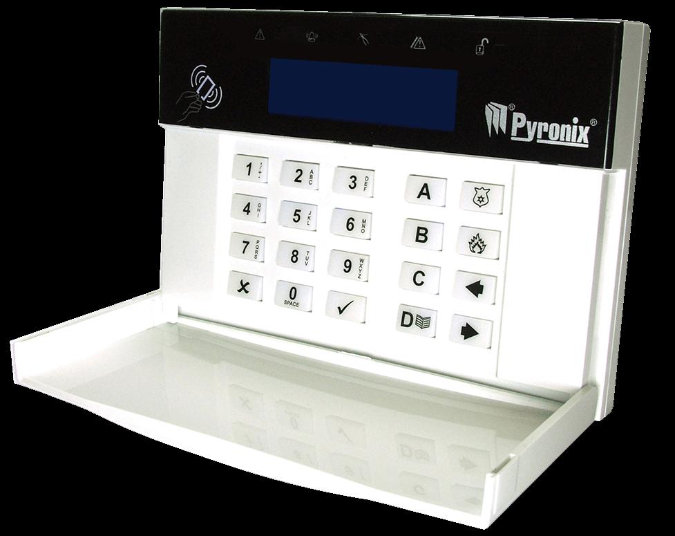 Teclado Pyronix Hikvison FPPCX-LCD/EX LCD com Leitor de Prox