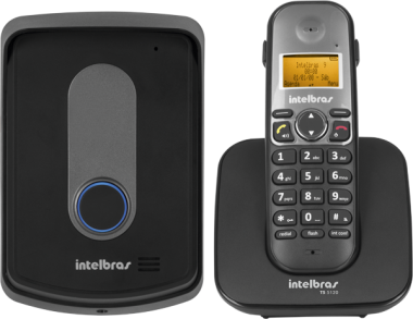 Telefone sem Fio Intelbras TIS 5010 com Ramal Externo