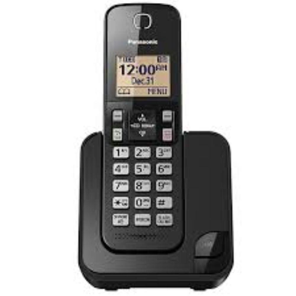 Telefone Sem Fio Panasonic Kx-Tgc350lbb Viva Voz Preto